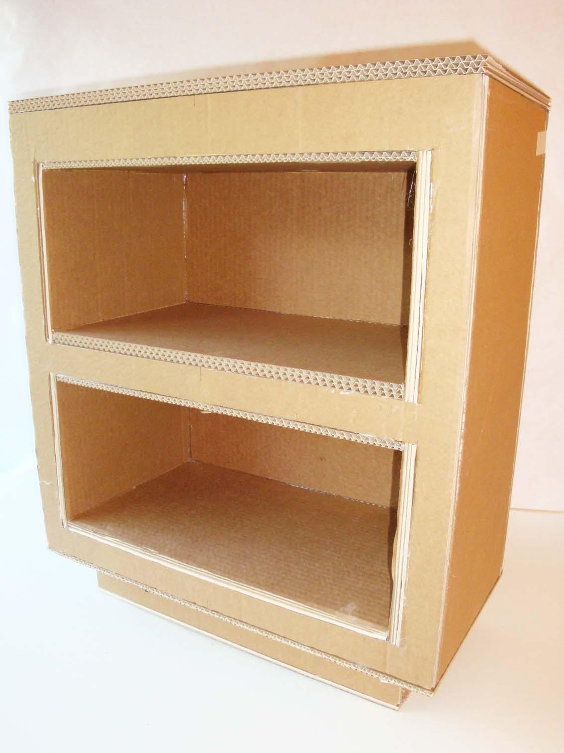 Fabriquer Meuble En Carton Affordable Meuble Carton With